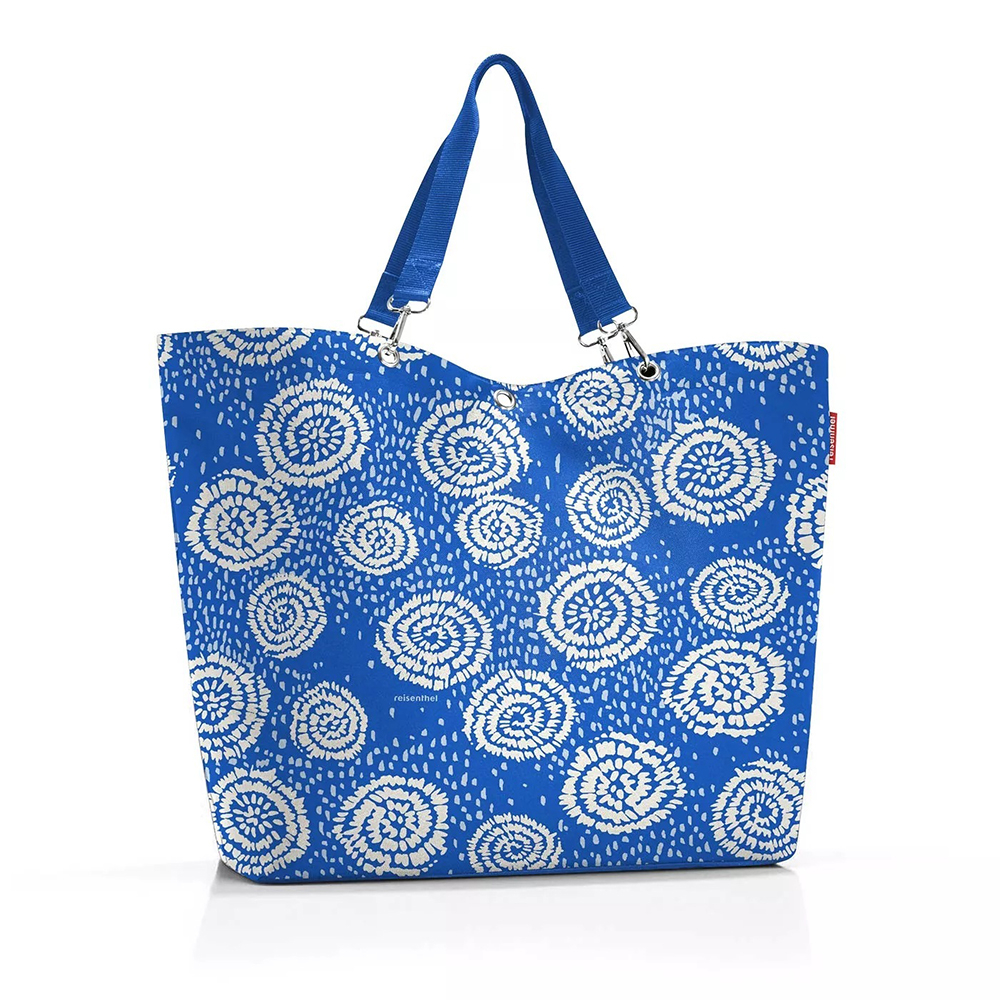 Reisenthel Shopper XL - Strandtas Batik Strong Blue