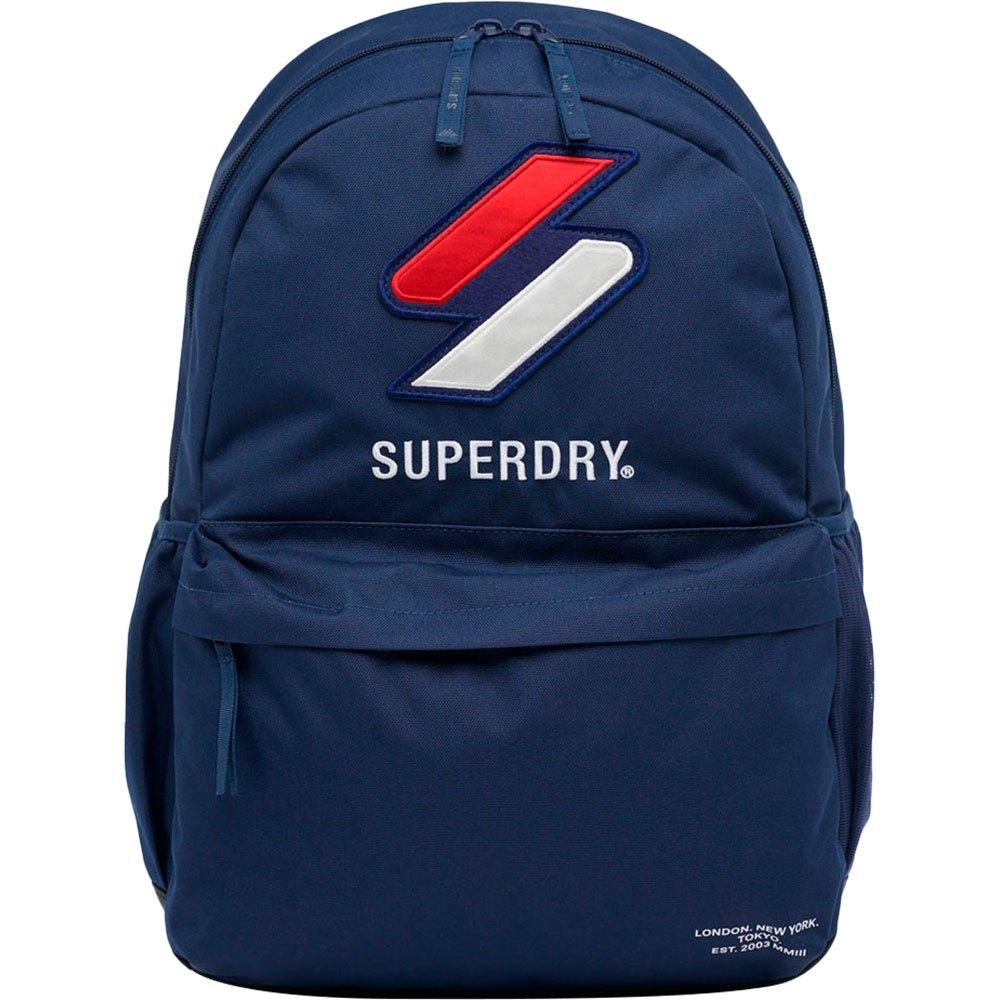 Superdry Montana Sportstyle Backpack Navy - Rugtassen