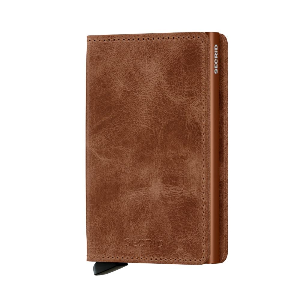 74d9910a53c Secrid Slim Wallet Portemonnee Vintage Cognac-Rust