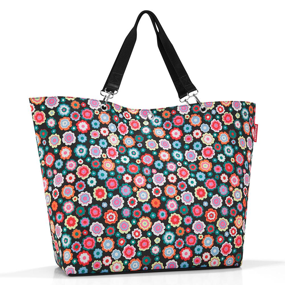 Reisenthel Shopper XL - Strandtas Happy Flowers