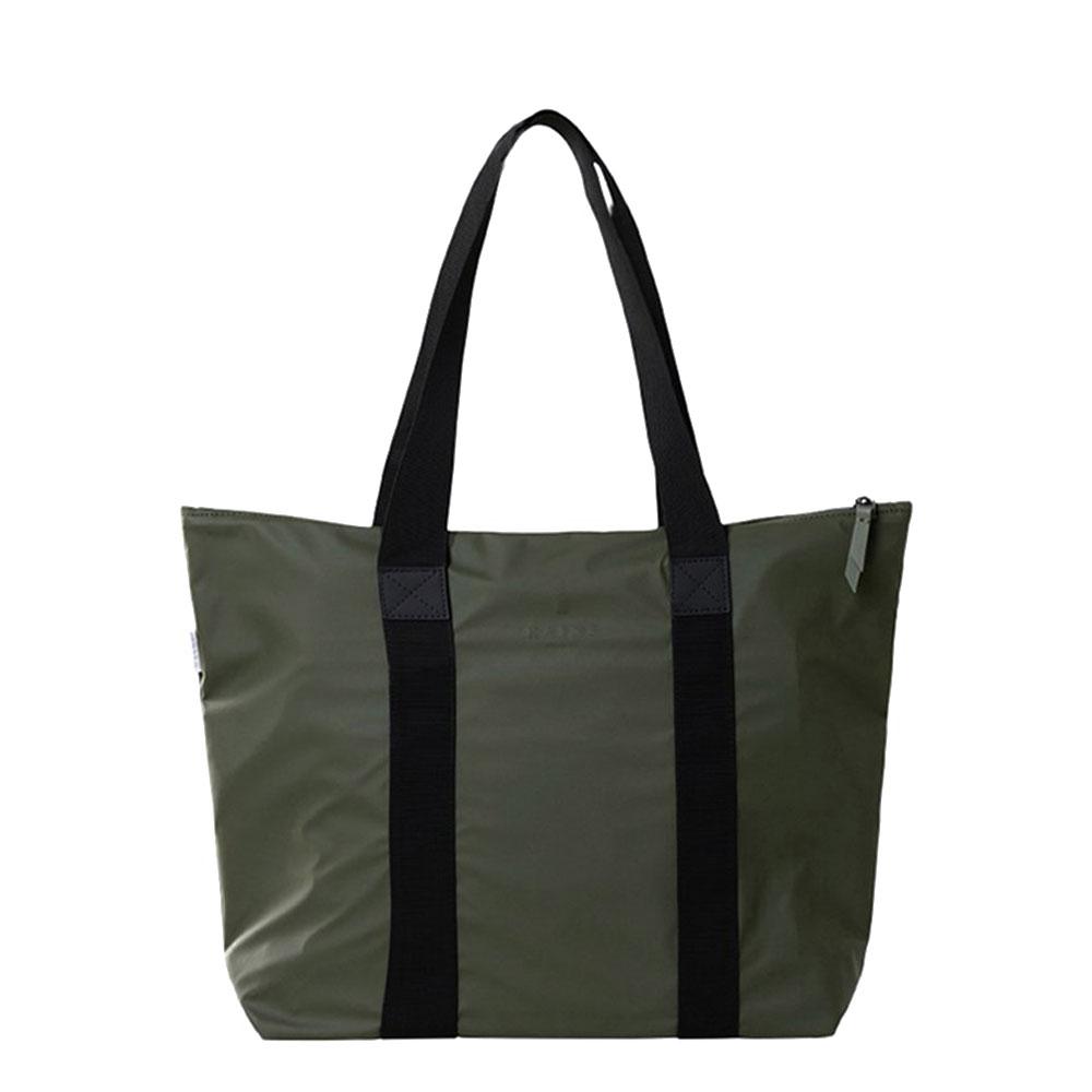Rains Original Tote Bag Rush Schoudertas Green