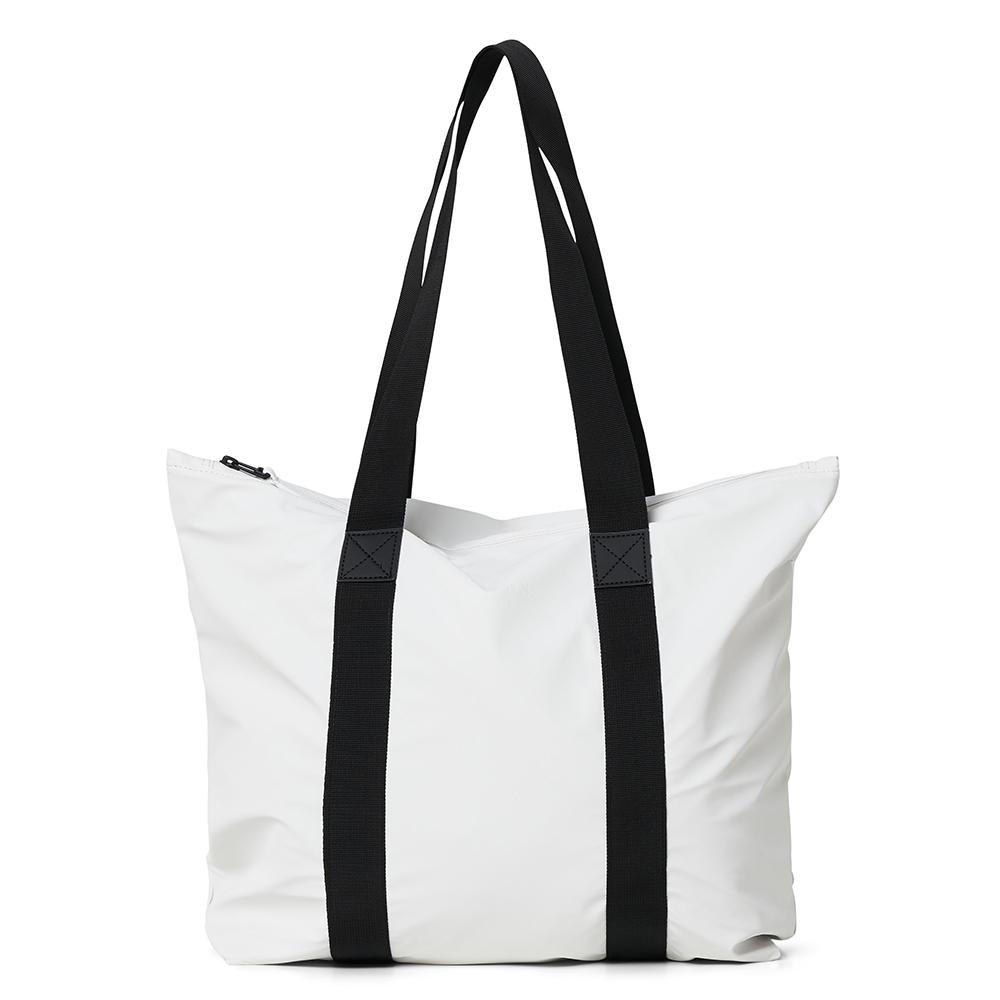 Rains Original Tote Bag Rush Schoudertas Off White