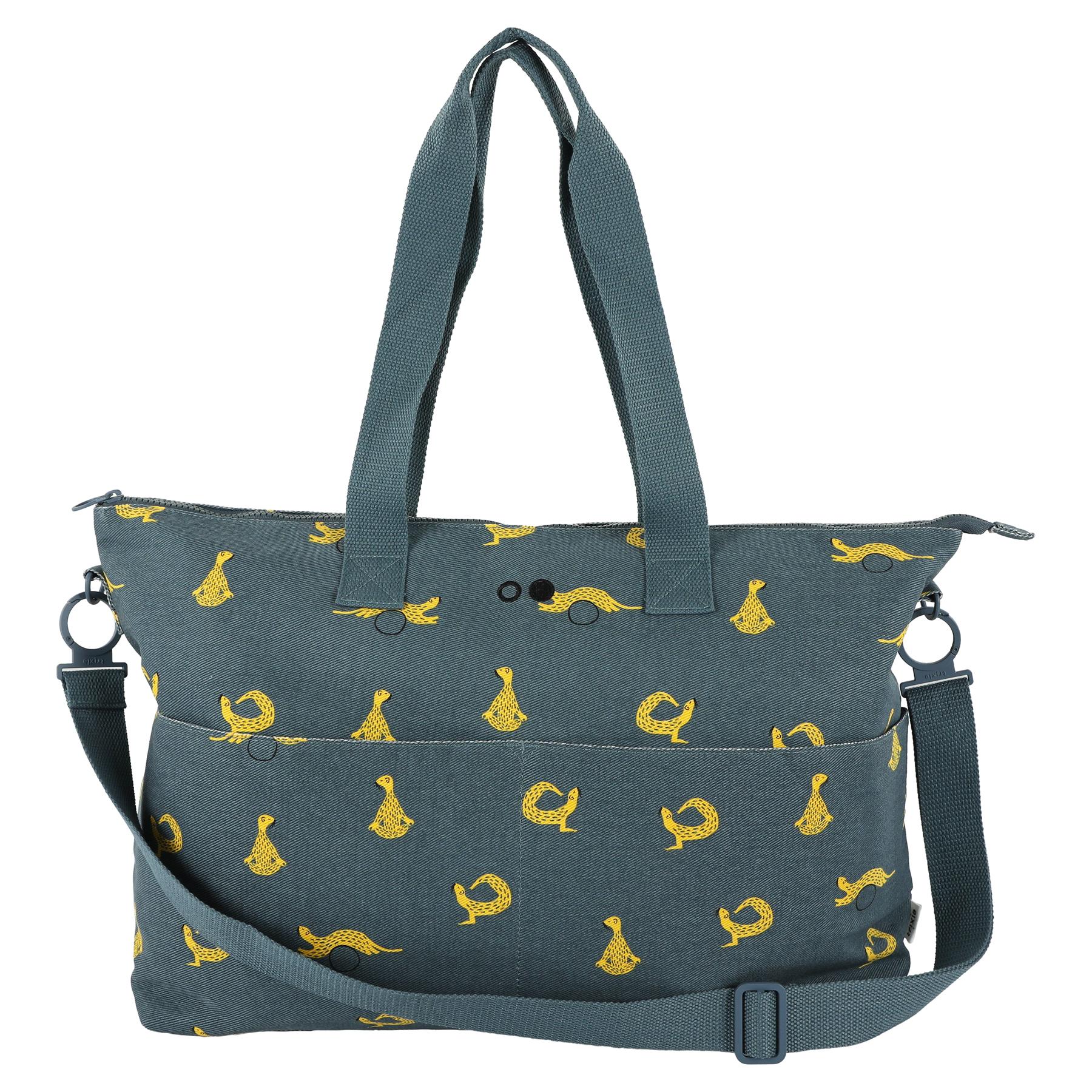 Trixie Kids Mommy Tote Bag Luiertas Incl. Verschoonmatje Whippy Weasel - Luiertassen