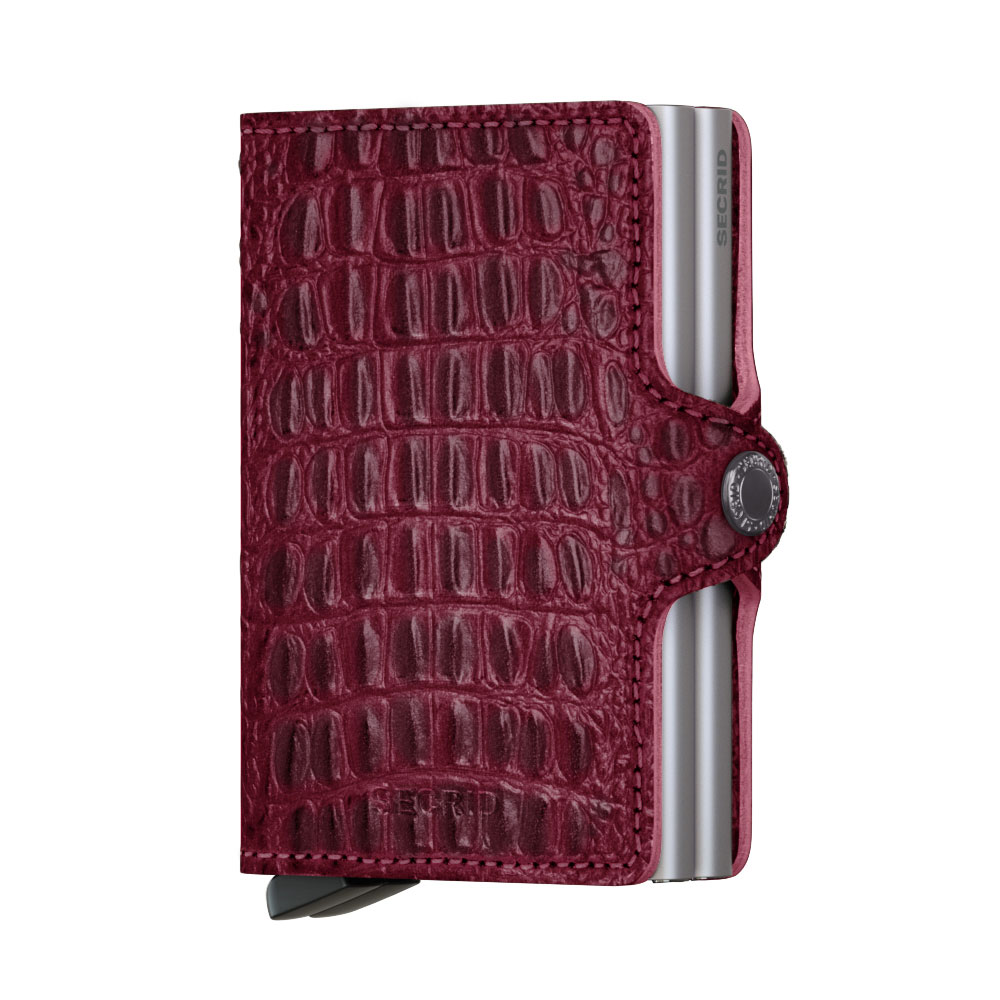 eb1690652ad Secrid Twin Wallet Portemonnee Nile Red