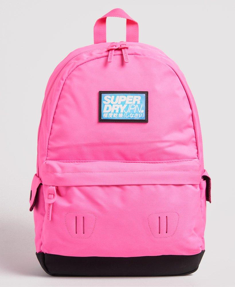 Superdry Montana Cuba Backpack Neon Pink