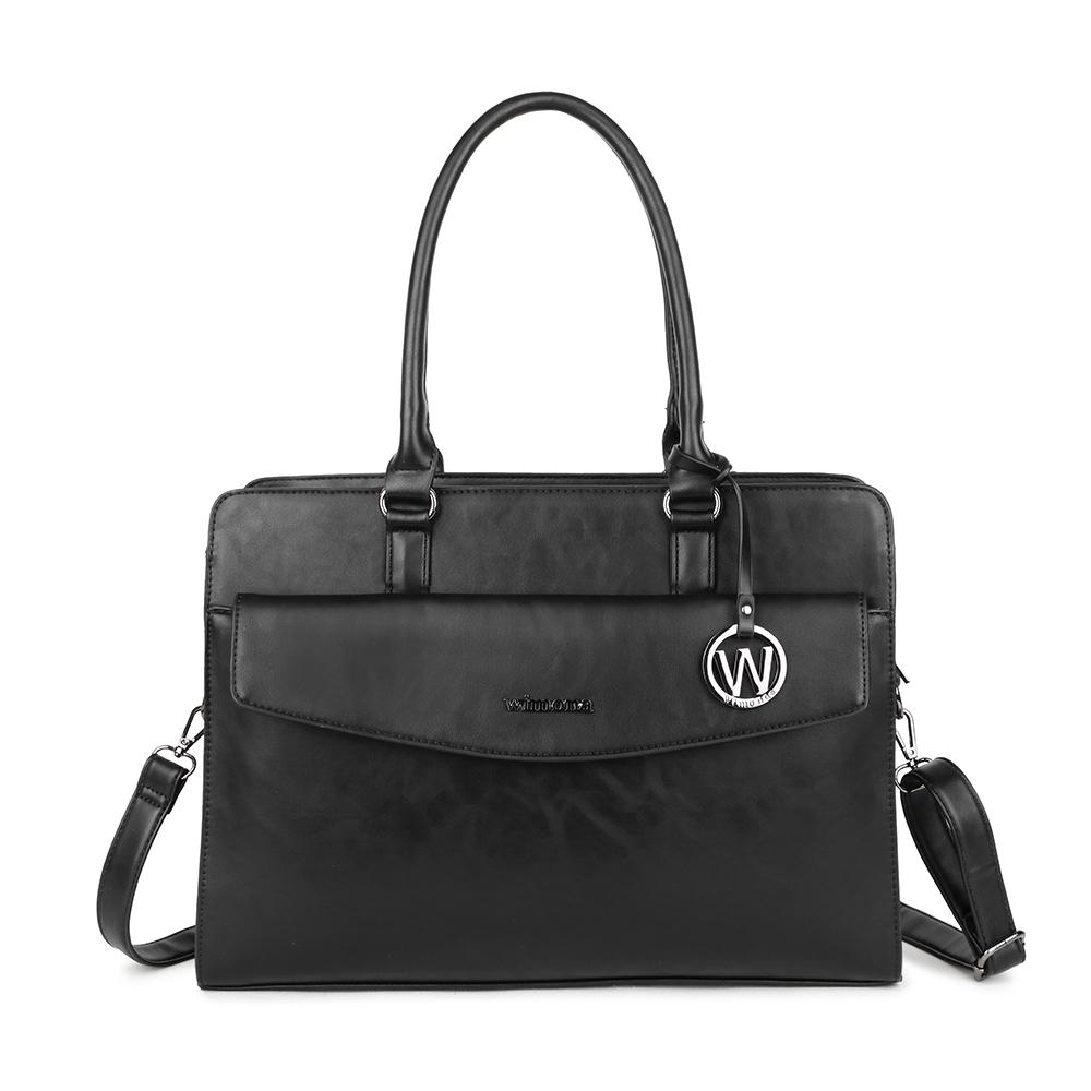 Wimona Valentina Schoudertas Laptop 15.6 Black
