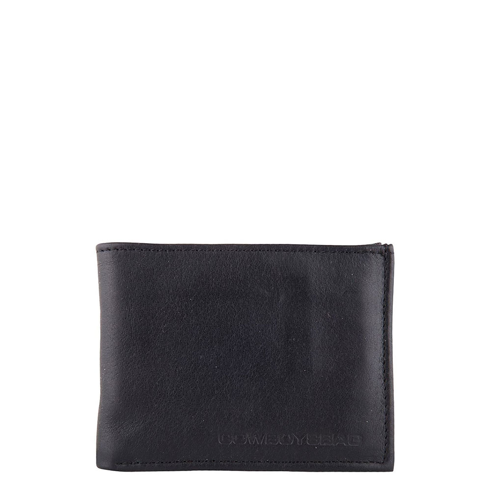 Cowboysbag Portemonnees Wallet Comet Zwart