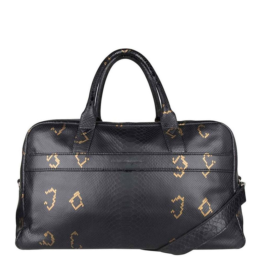 Cowboysbag X Bobbie Bodt Weekender Snake Black And Gold