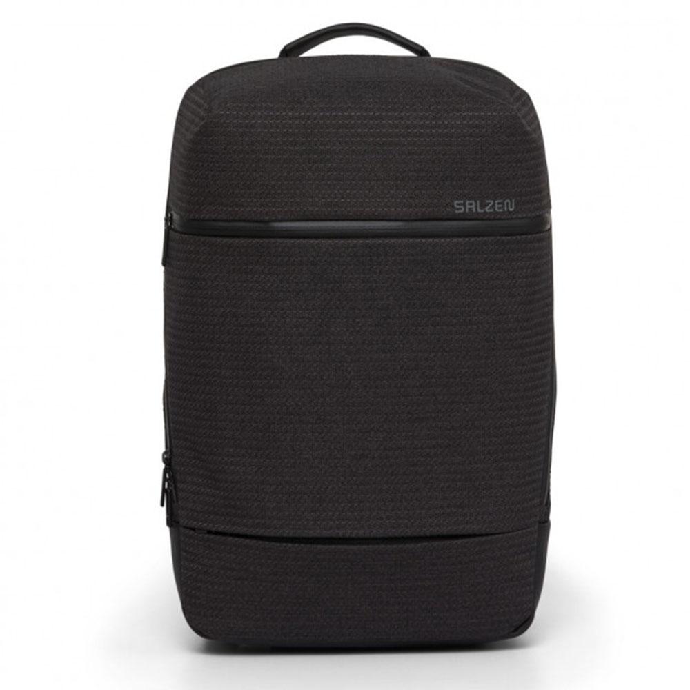 Salzen Savvy Fabric Daypack Backpack Ash Grey